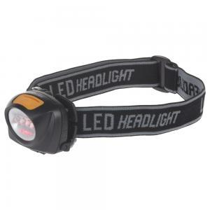 Tactical 4 White and 3 Red LED Headlamp