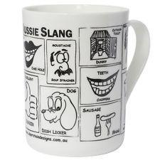 NEW Aussie Slang Mug