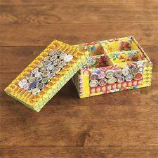 NEW Recycled Paper Jewellery Box Small