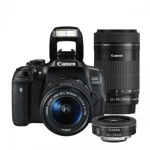 Canon EOS 750D & 18-55mm STM & 55-250mm & 24mm STM
