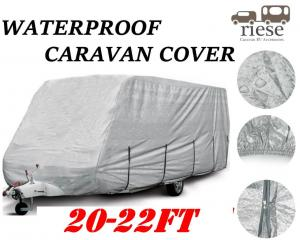 Riese 20-22ft 6 10-6 70m 3 Layer Aluminum Caravan Cover Dust Rain Protection
