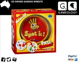 SPOT IT Card Game Family Party Game