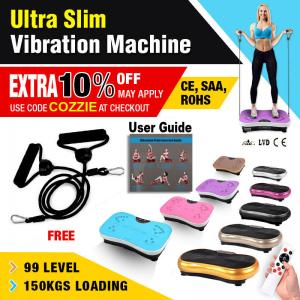 Warranty Covered Ultra Slim Vibration Machine Plate Platform Fitness Body Shaper