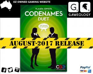 PREORDER Codenames Duet Board Game