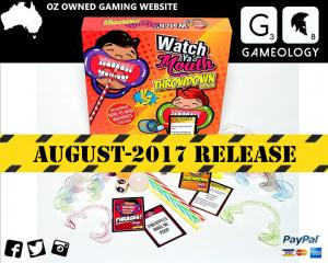 PREORDER Watch Ya Mouth Throwdown Board Game