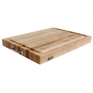 Boos Maple Board with Gravy Groove and Handle 46x61x6cm