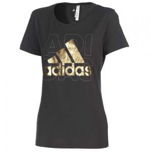 adidas Womens Logo Short Sleeve Tee