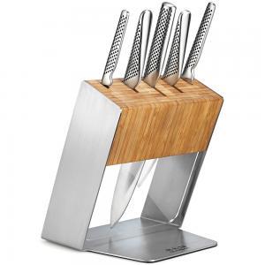 Global Katana 6 piece Knife Block Set