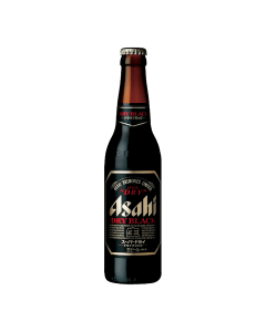 Asahi Super Dry Black 334mL case of 24 Craft Beer Dark