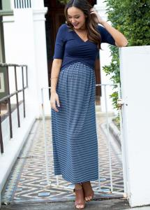 Melody Cross Over Nursing Maxi