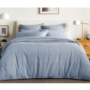 Sheridan Reilly Standard Queen Quilt Cover Set Chambray