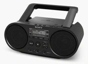 ZSPS50 CD Boombox with AM & FM Digital Radio Tuner and USB Playback