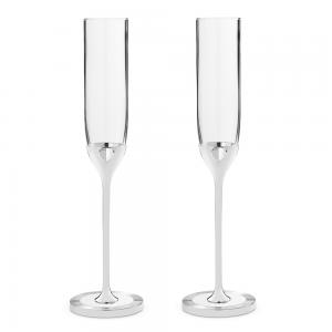Wedgwood Vera Wang Love Always Toasting Flute Pair