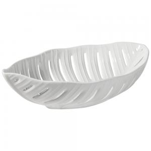 Jacques Pergay Banana Leaf Salad Serving Bowl