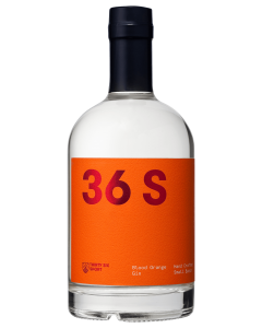 36 Short Blood Orange Gin 500mL bottle