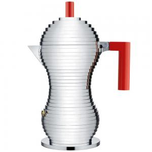 Alessi Pulcina Red Espresso Coffee Maker 300ml