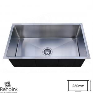 840x440mm Handmade Laundry Kitchen Sink Stainless Steel
