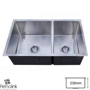 780x440mm Handmade Laundry Kitchen Sink Stainless Steel