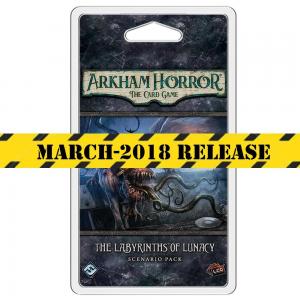 PREORDER Akkham Horror LCG The Labyrinths of Lunacy Card Game