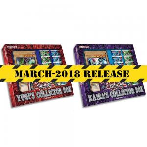 PREORDER YUGIOH! TCG Yugi and Kaiba Collector's Box Trading Card Game