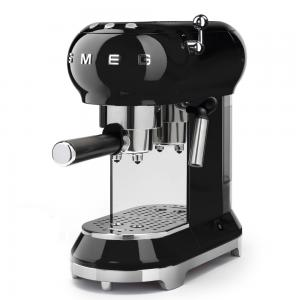 Smeg 50s Retro Espresso Coffee Machine Black