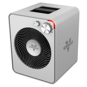 NEW Vornado VMH300 Wholeroom Vortex Heater Brushed Steel
