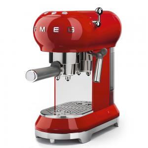 Smeg 50s Retro Espresso coffee Machine Red