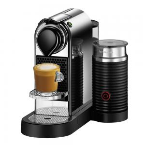 Breville Nespresso CitiZ & Milk Chrome Coffee Machine