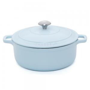 Duck Egg Blue Round French Oven 24cm
