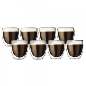 Bodum Pavina Double Walled Glass Pay for 6 Get 8 Pack