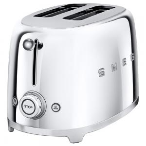 Smeg 50s Retro Toaster Two-Slice Chrome