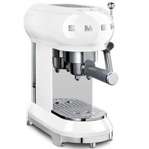 Smeg 50s Retro Espresso Coffee Machine White