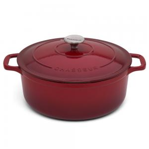 Chasseur Bordeaux Round French Oven 26cm