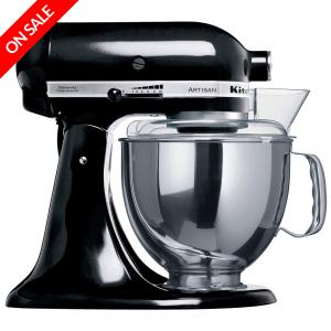 KitchenAid Artisan KSM150 Black Mixer