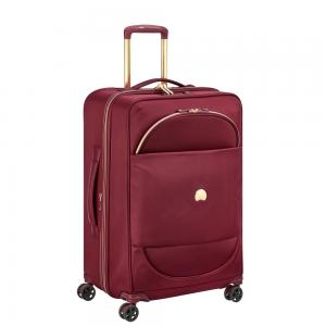 Delsey Montrouge Expandable Spinner Case Red 69cm