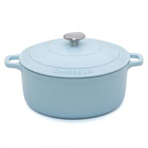 Chasseur Duck Egg Blue Round French Oven 26cm/5.2L