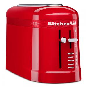 KitchenAid - 100 Year Queen Of Hearts 2 Slice Toaster Passion Red