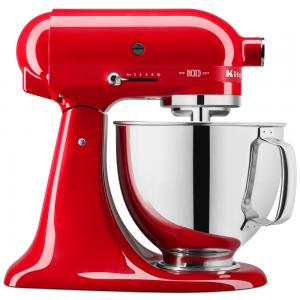 KitchenAid KSM180 100 Year Queen Of Hearts Mixer Passion Red