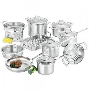 Scanpan Impact Cookware Set 10pce